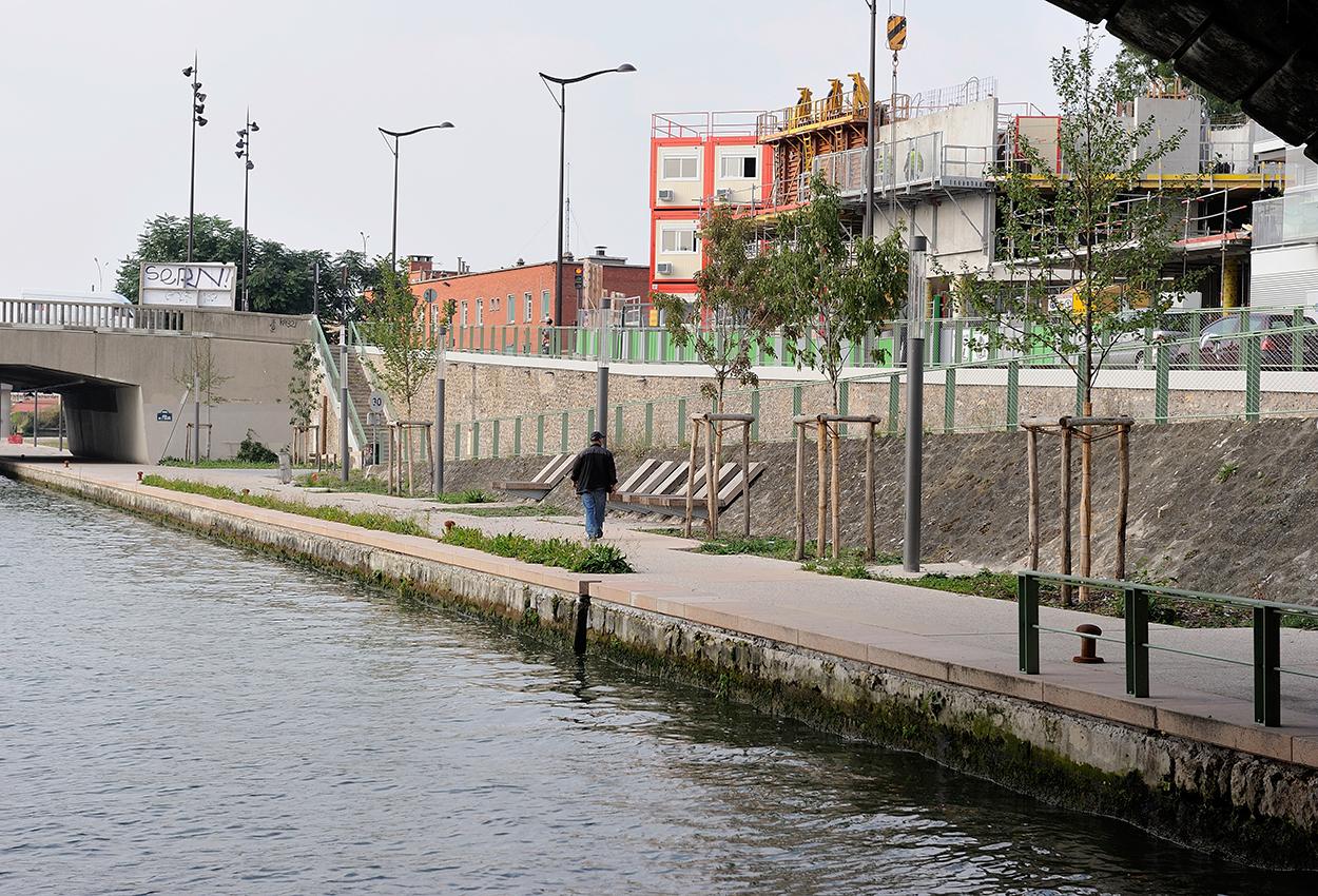 Am nagement des berges du canal saint denis - Chambre de commerce seine saint denis ...